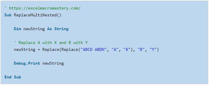 22- hướng dẫn cơ bản về hàm String VBA