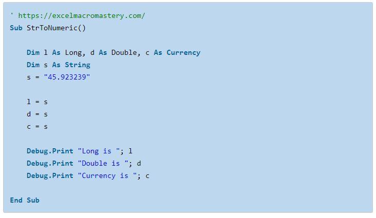 25- hướng dẫn cơ bản về hàm String VBA