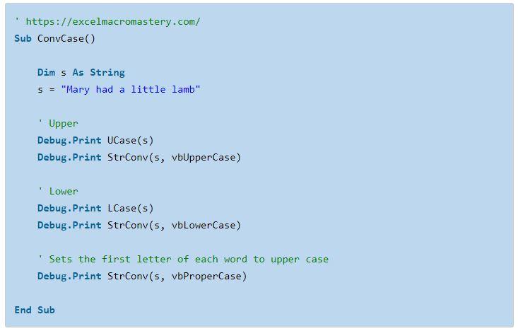 28- hướng dẫn cơ bản về hàm String VBA