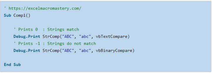 1- hướng dẫn cơ bản về hàm String VBA