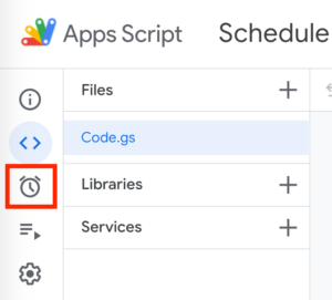trigger trong google apps script