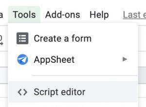 script editor trong google apps script