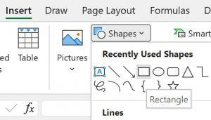 Cách tạo menu chuyển động đẹp trong Excel