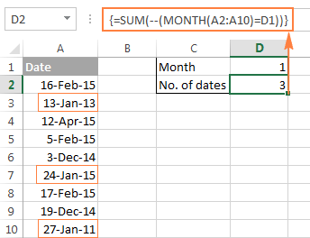 Using the double unary operator in Excel array formulas