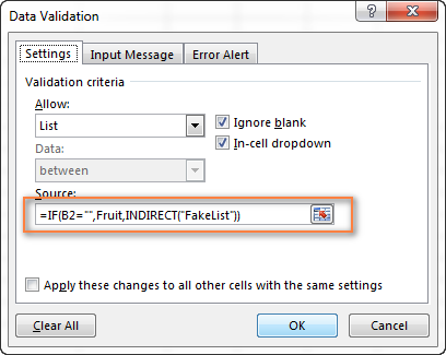 Preventing changes in the primary drop down list