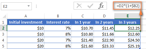 Calculating the amount earned after 3 years with annual compound interest