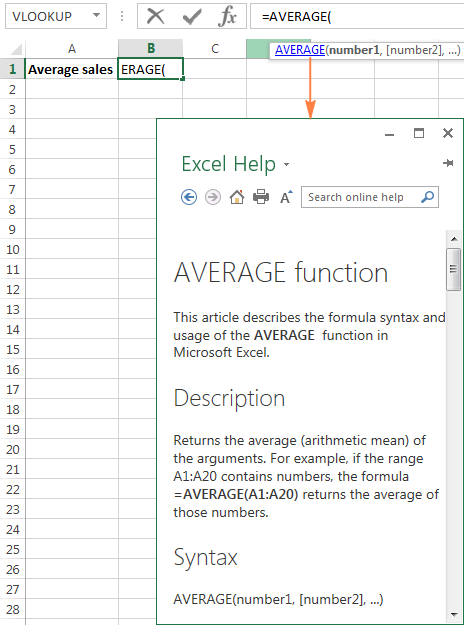 If you are not familiar with the function's syntax, click the function name for the corresponding Help topic to appear.