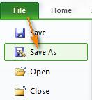 1- Chuyển đổi Excel sang file CSV và xuất định dạng CSV UTF-8