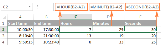 Calculate time difference in one unit ignoring others