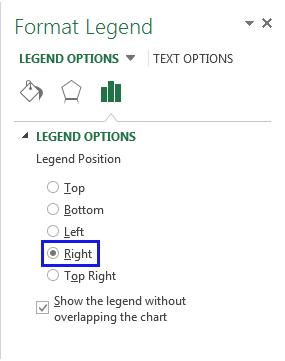Define the needed Legend options
