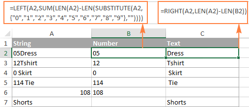 Splitting a column of strings where numbers appear before text